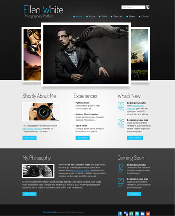 Photography Website Templates. Photography Website Templates ...