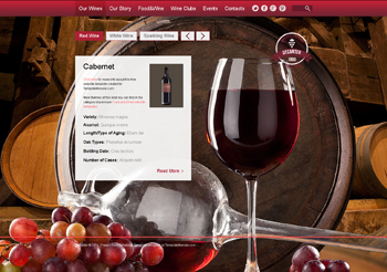 Winery free responsive email newsletter template.