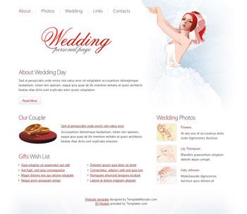 Free Wedding Templates - Wedding newsletter template